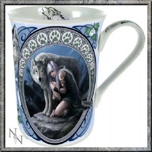 Mug~ Protector Mug Gift Boxed - Anne Stokes~By Folio Gothic Hippy B1422D5